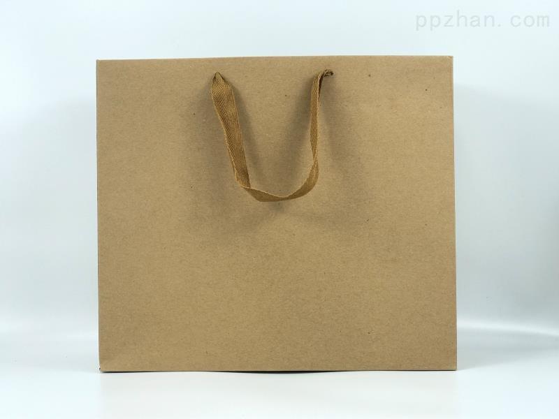 牛皮纸礼品袋 环保手提纸袋 服装袋