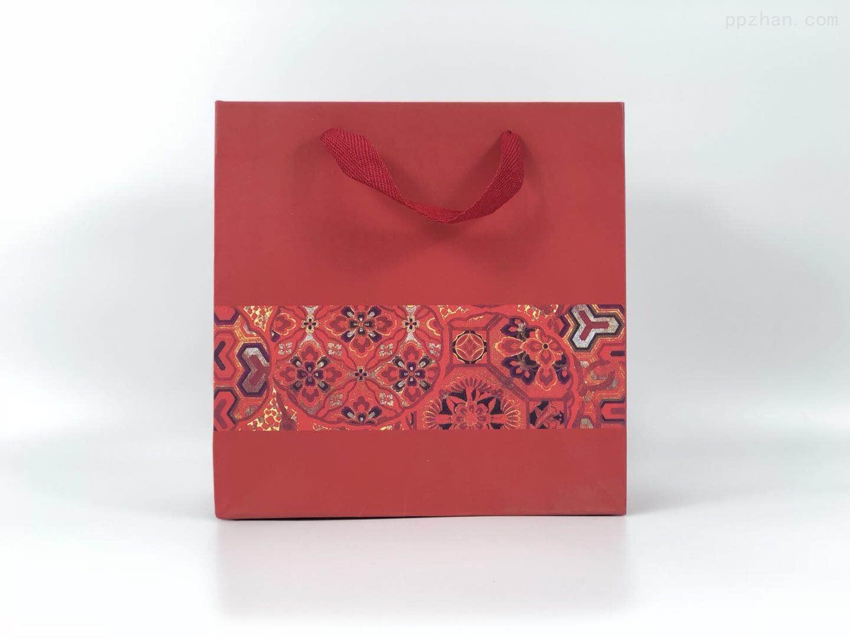 中国风民族风礼品袋  手提袋 印花回礼袋