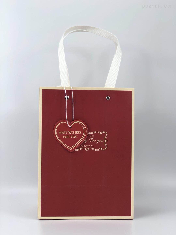 新年手提袋 节日礼品袋 简约纸袋 礼物袋