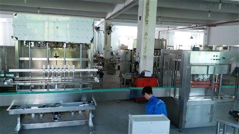瓶装润滑油自动灌装生产线