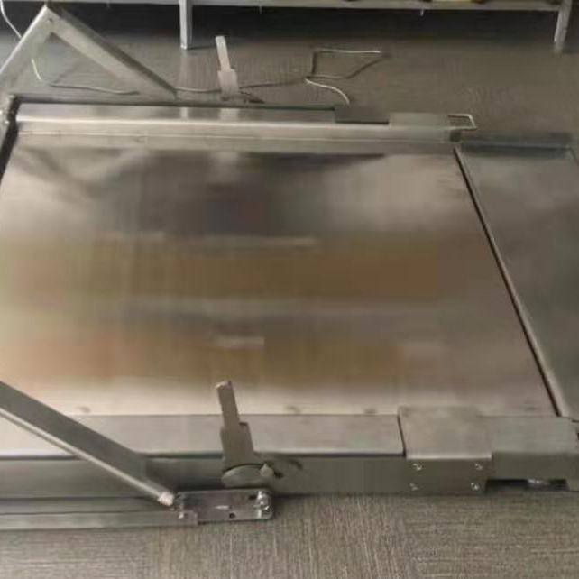 可冲洗不锈钢多功能防爆地磅