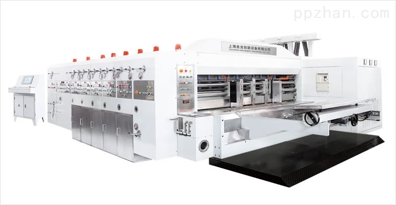 9000型电脑高速自动水性印刷开槽模切机