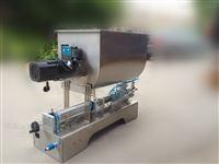 wf-鱼子酱全自动酱类灌装机-可调速螺旋搅拌