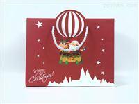 圣诞礼品袋手提纸袋  礼物包装袋定制批发