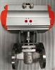 X643W-10P双作用气动旋塞阀